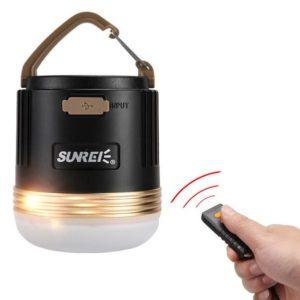 Camping Lampe mit Powerbank