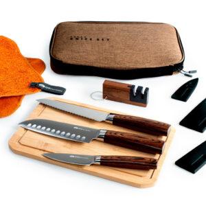 GSI Rakau Knife Set - Messer-Set